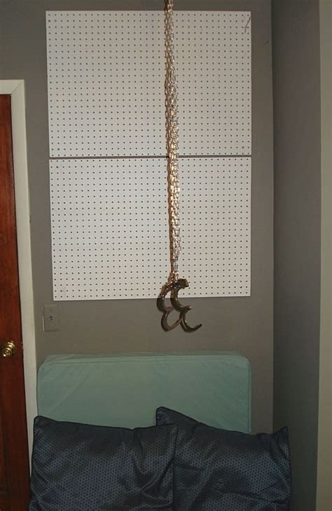 handcuffs attached  eye bolts   ceiling bedroom dungeon