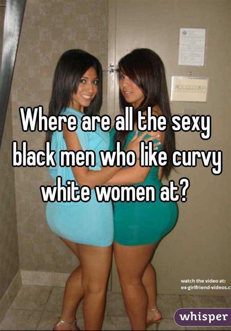 Hot white women with black men