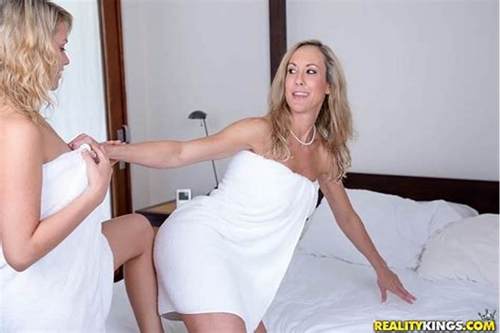 #Teen #Mia #Malkova #And #Her #Step #Mom #Brandi #Love #Fucks #In