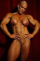 Mature sexy female bodybuilding
