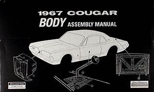 1967 Mercury Cd Repair Shop Manual  U0026 Parts Book Cougar