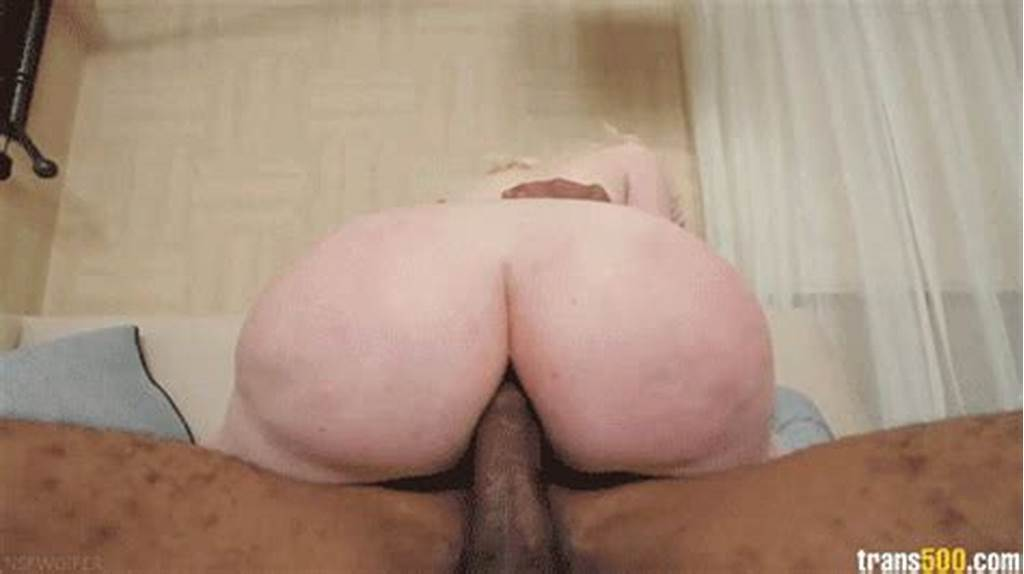 #Pale #Shemale #Sucks #And #Gets #Bareback #Fucked #By #Hung #Black