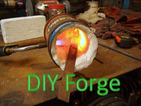 Miniature blacksmith propane heat treating forge msfn. Free Blacksmith PDF: Making a Coffee Can Forge