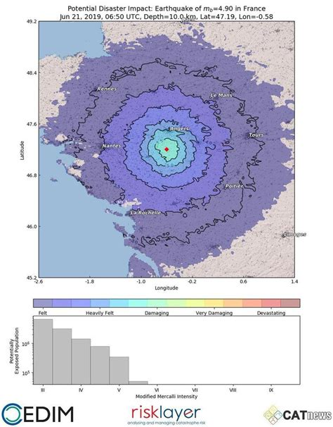 La terre a tremblé à nouveau à strasbourg mercredi 13 novembre peu avant minuit. Séisme de 5.2 dans la région de Nantes - Wikistrike