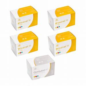 Pack S U00e8che Maha Pharma - St U00e9ro U00efdes Oraux   Clenbuterol  Cycle 10 Semaines