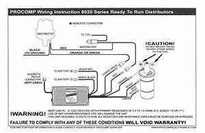 Wiring A Procomp Billet Distributor  3 Wires