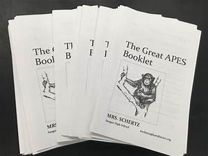 The Great Apes Booklet