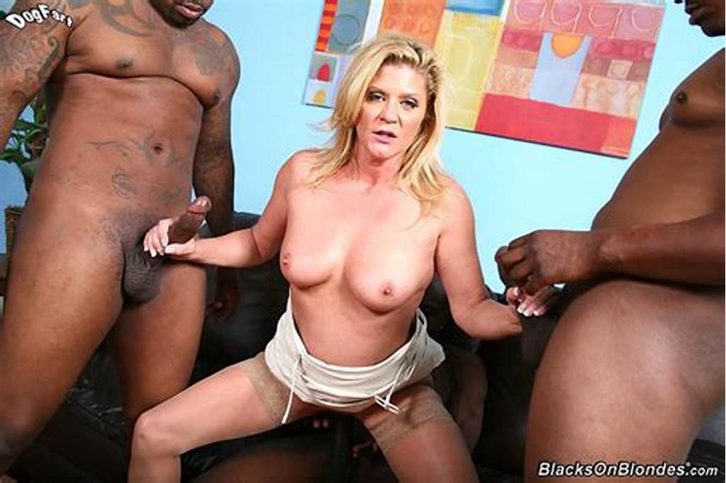#Ginger #Lynn #Gets #Double #Penetrated #By #Three #Hung #Black