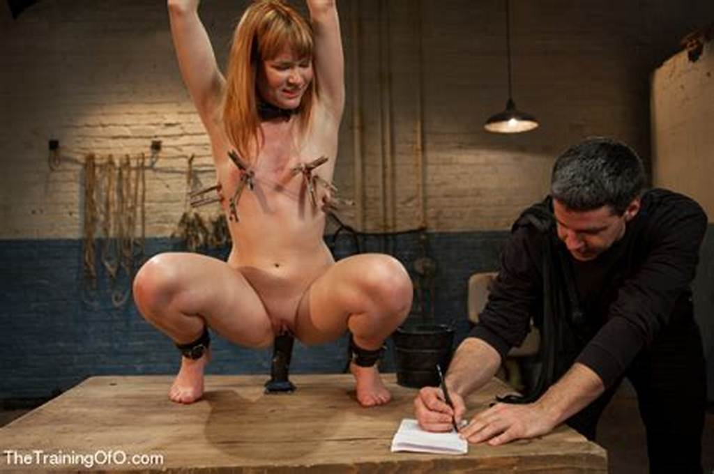 #Bound #And #Hung #Naked #Red #Girl #Is #Tortured #Badly #In