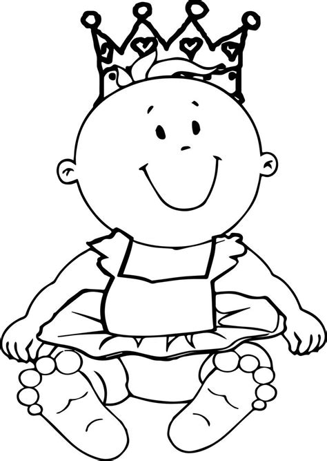 Prince Baby Boy Coloring Page Mermaid coloring pages