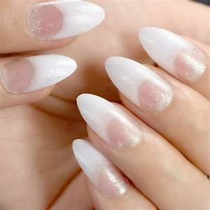 aliexpress buy white clear nail glitter nails