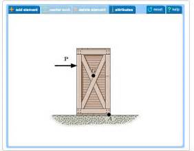 Draw A Free Body Diagram Of The Crate That Has A Center Of
