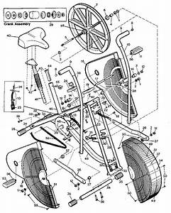 Proform 411101 Exercise Cycle Parts