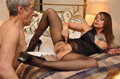 Classy British Mistress On Her Bed #Mistress #Carly #Female #Domination
