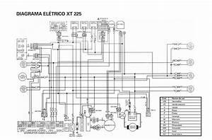 Diagrama El U00e9trico Xt225
