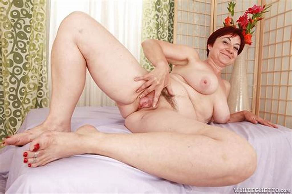#Lusty #Granny #With #Big #Flabby #Tits #Stripping #And #Spreading
