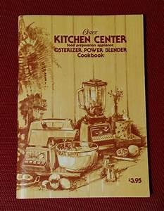 Vintage 1975 Oster Osterizer Power Blender Cookbook