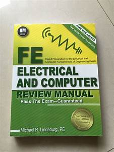 Fe Electrical And Computer Review Manual First Edition New