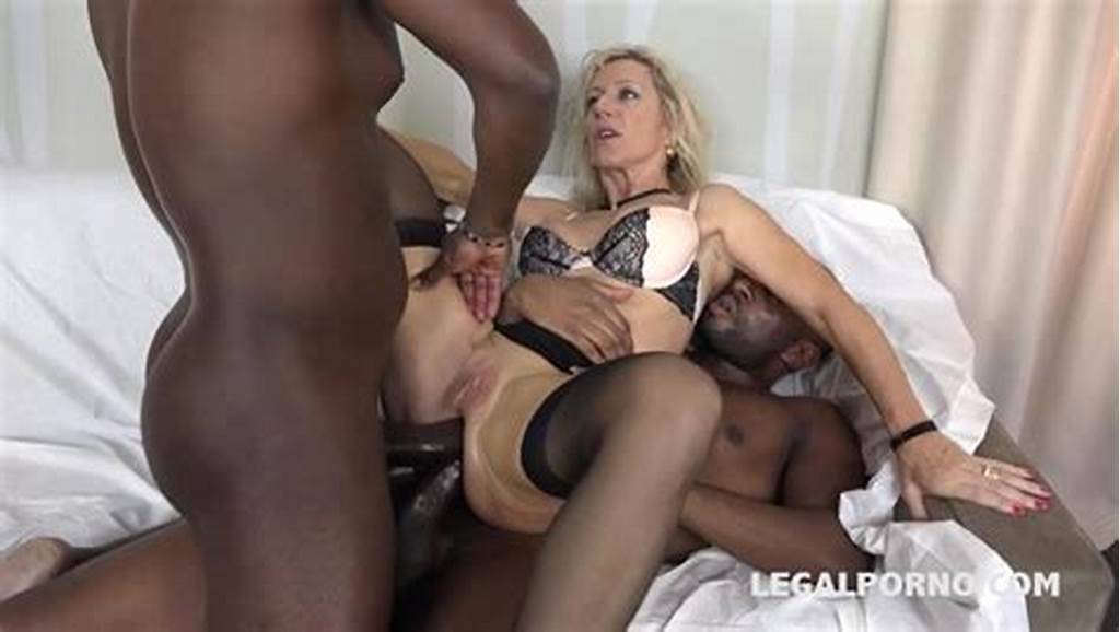 #Mature #Bbw #Interracial #Double #Anal