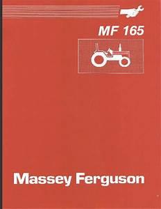 Massey Ferguson 165 150 175 Tractor Service Manual  Parts