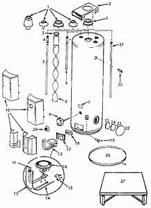 Diagram  Wiring Water Heater Sw10de Parts Diagram Full