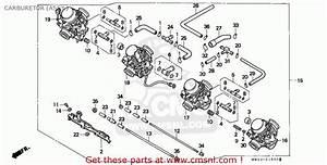 Honda Cbr900rr Fireblade 1994  R  Netherlands Carburetor