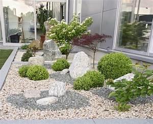 Kies Vorgarten Anlegen : gartengestaltung mit kies bilder garten steine kies garten suite nowaday garden ~ Bigdaddyawards.com Haus und Dekorationen