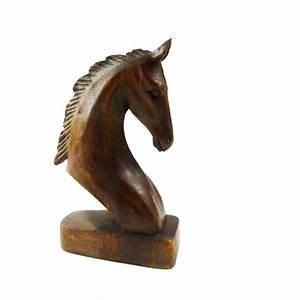 Pferdekopf Aus Holz : pferd holz figur skulptur abstrakt holzfigur statue afrika ~ A.2002-acura-tl-radio.info Haus und Dekorationen