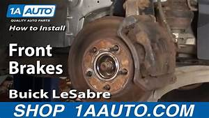How To Install Replace Front Brakes Buick Lesabre 00