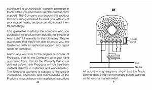 Manual Aeon Labs Nano Dimmer