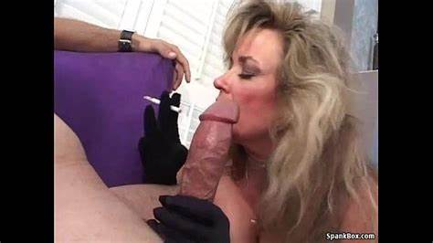 Long Youthful Lady Cocksucking Older Lover