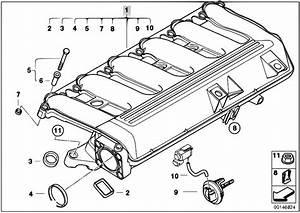 Original Parts For E60 530d M57n Sedan    Engine   Intake