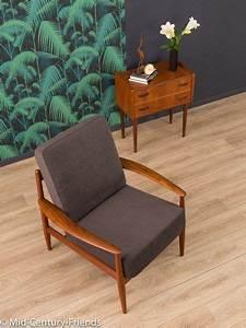 Sessel 60er Design : vintage sessel original grete jalk sessel 60er france ~ A.2002-acura-tl-radio.info Haus und Dekorationen
