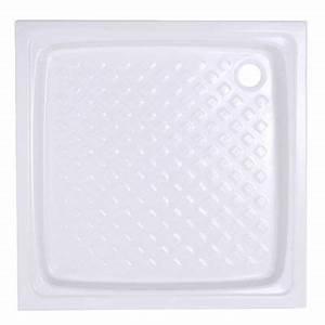 Receveur De Douche Carré 100x100 : receveur poser pierre blanc gres 90 x 90 cm castorama ~ Edinachiropracticcenter.com Idées de Décoration
