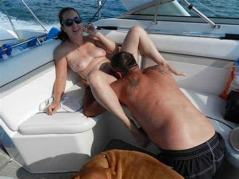 Orgy Milfs Creamed In The Boat