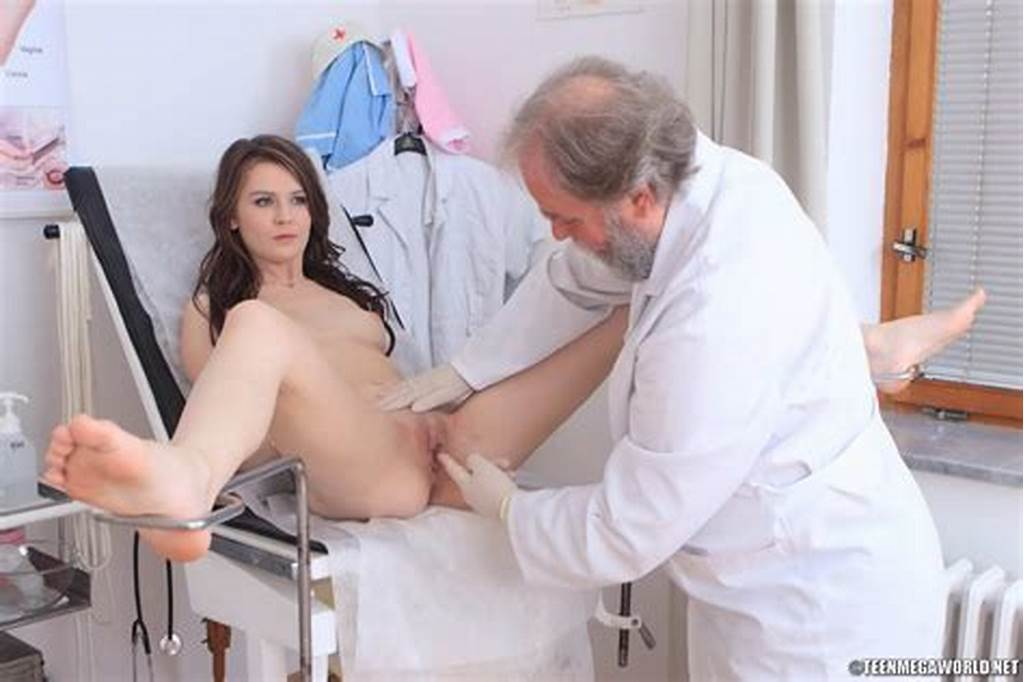 #Old #Doctor #Cums #On #The #Chest #Of #Teen #Girl #After #Checkup