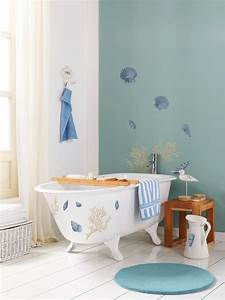 beach nautical themed bathrooms hgtv pictures ideas With best brand of paint for kitchen cabinets with seashell prints wall art