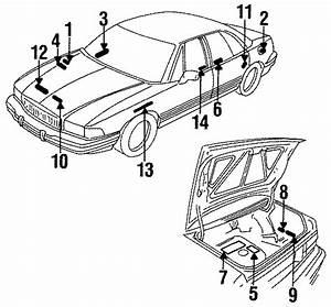 Buick Lesabre Info Label  Fuse  U0026 Dash Wiring  All  Fuse