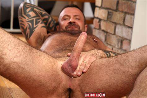 Black Hair Masturbating Large Prick