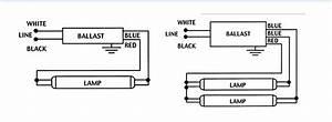 Electronic Ballast Ge Proline 1 Or 2 Lamp T8 Model Ge232