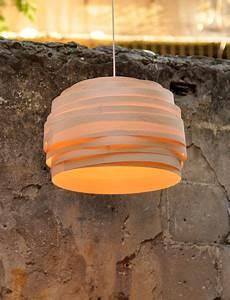 Kreidefarbe Auf Furnier : lampenschirm aus furnier leicht bew lkt 45 cm von studio vayehi auf furnier in ~ Yasmunasinghe.com Haus und Dekorationen