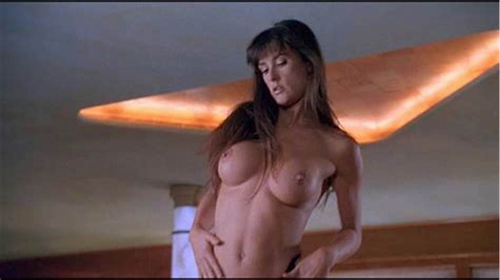 #Demi #Moore #Topless #Scene #In #Striptease #Movie