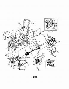 Craftsman 580327140 Generator Parts