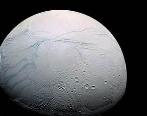 Cassini Bids Its Final Farewell to Saturn's Moon Enceladus ...