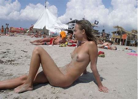Beach Teen Girl Nude