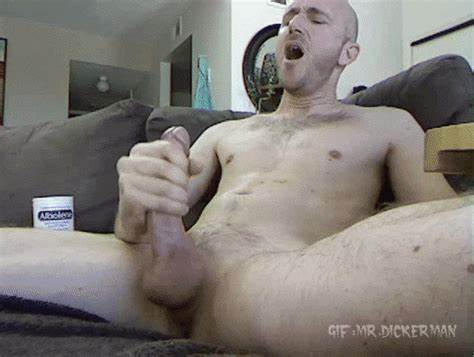 Sissy Grandpa Huge Tough Dick Erection Wanking
