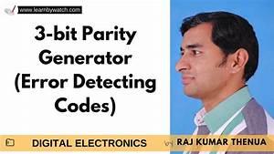 3 Bit Parity Generator
