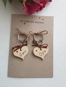 Geschenke Für Oma Und Opa Selber Machen : gl ckw nsche eine karte mit schl sselanh nger f r opa ~ Watch28wear.com Haus und Dekorationen