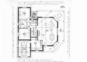 plan de maison moderne gratuit mc immo With plan maison individuelle moderne
