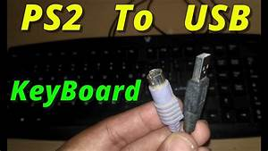 How To Convert Keyboard Ps2 To Usb  100  Working   2018